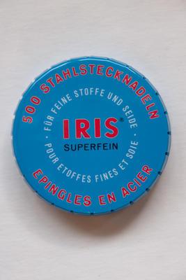 500 Stahlstecknadeln IRIS Superfein