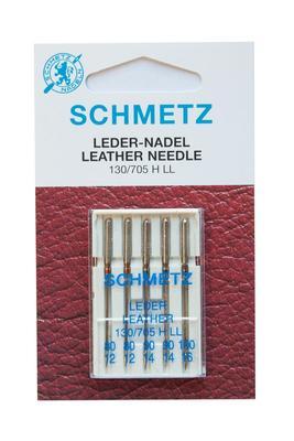 5 Stk. Nr. 80-100 Leder Nähmaschinennadeln Schmetz
