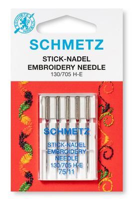 Sticknadel 5 Stk. 130/705 Nähmaschinennadeln Schmetz