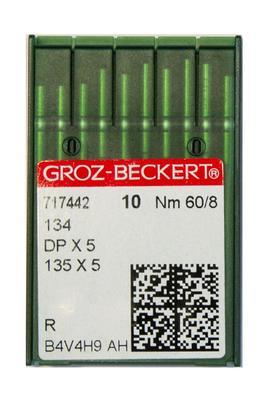 60/8 System 134/DPX5 R 10 Stk. Industrienadeln Groz-Beckert