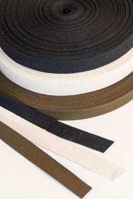 Baumwoll Gurtband 20 mm, 25 m Rolle