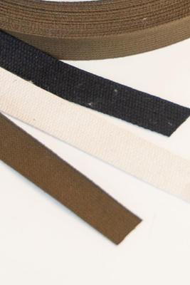 Baumwoll Gurtband 20 mm, Meterware