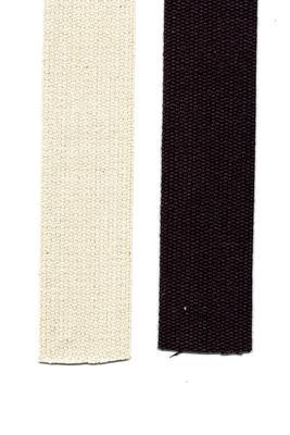 Baumwoll Gurtband 25 mm, Meterware