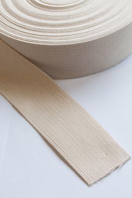 Baumwoll Gurtband 50 mm, 25 m Rolle