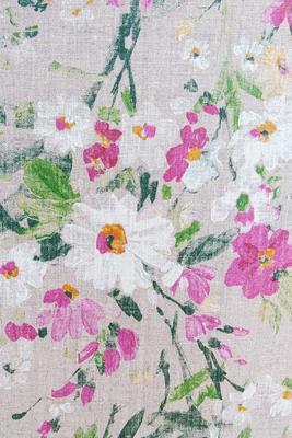 """""""Blumen"""" Leinen Acryl- und Teflonbeschichtet, 250g/m2"""
