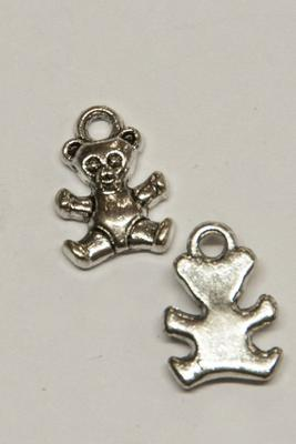 Charm Teddy, 9x13mm