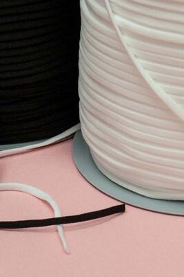 Elastische Stricklitze 3mm, meterware
