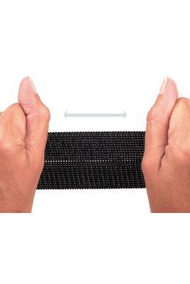 20 mm, Meterware, elastisch, Flausch, Klettverschluss