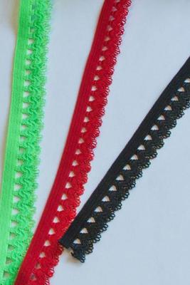 Elastisches Spitzenband, Breite 15 mm