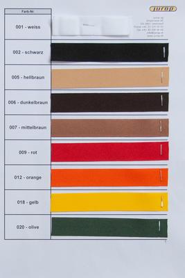 Farbkarte Ripsband