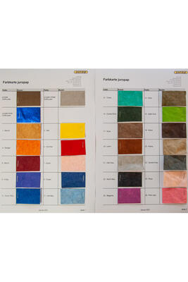 Farbkarte juropap colour
