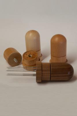 Filznadelhalter für 5 Filznadeln aus Holz