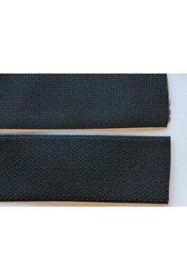 Flauschiges elast. Bundband, 50 mm, Meterware