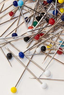 Glaskopf-Stecknadeln 1000 Nadeln