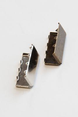 25 mm Gurtendstück für Gurtband, Metall