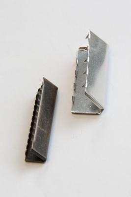 40 mm Gurtendstück für Gurtband, Metall