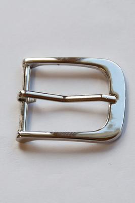 30 mm Gurtschnalle mit Dorn, abgerundet