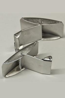 40 mm Gurtschnalle zum Klappen Metall