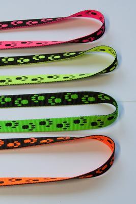 Hundepfoten Gurtband 15 mm