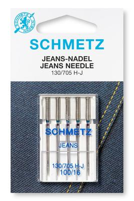 Jeans 5 Stk 130/705 Nähmaschinennadeln Schmetz