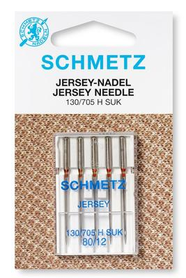 Jersey 5 Stk 130/705 Nähmaschinennadeln Schmetz
