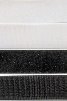 25 mm, Meterware, Klettverschluss