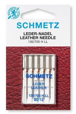 Leder 5 Stk 130/705 Nähmaschinennadeln Schmetz