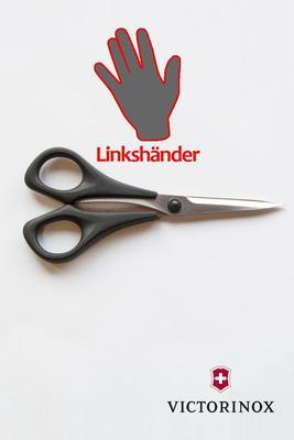 Linkshänderschere für Beruf und Haushalt, 13cm