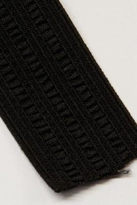 Mauser Elastic 35 mm, schwarz, Meterware