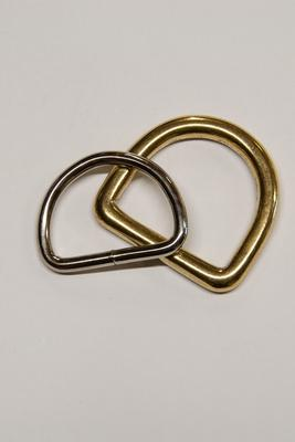 16 mm D-Ring Metall