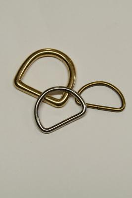25 mm D-Ring Metall