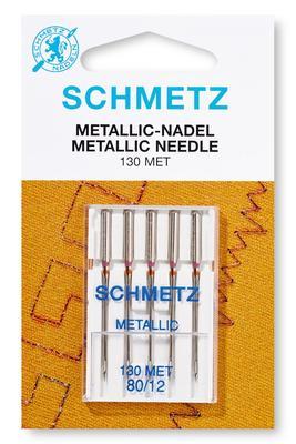 Metallic Nadel 5 Stk 130 MET Nähmaschinennadeln Schmetz