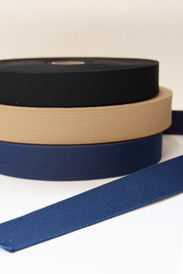 Polyester Gurtband 40 mm, 25 m Rolle