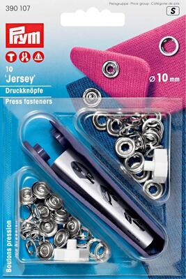Prym Jersey Druckknöpfe, 10mm
