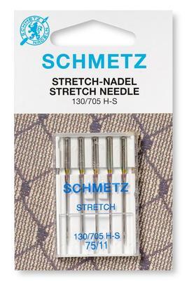 Stretch 5 Stk 130/705Nähmaschinennadeln Schmetz