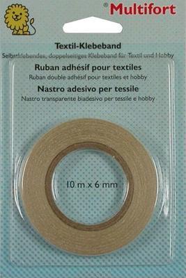 Textilklebeband Multifort, 10m x 6mm
