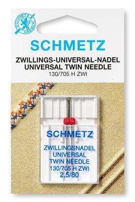 Zwillings-Universal 1 Stk 130/705 Nähmaschinennadeln Schmetz