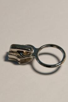 6 mm mit Ringgriff, Reissverschluss Schieber
